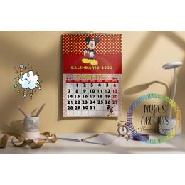 Calendario Mickey Mouse