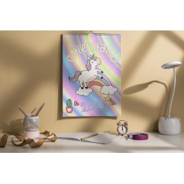 Calendario Unicornios 2022
