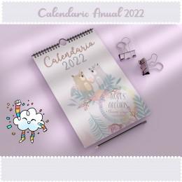 Calendario Animalitos 2022