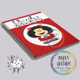 Agenda Mafalda Sin fechar